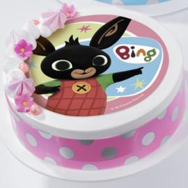 Bing eetbare taart opdruk 21cm