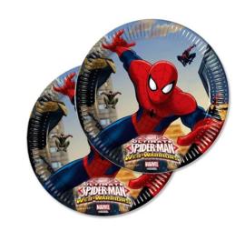 Spiderman borden 8 stuks 19,5cm