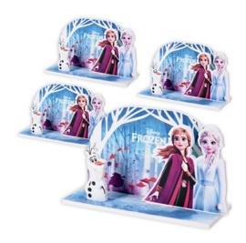 Frozen versiering tafel 4 stuks