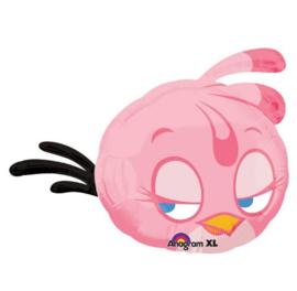 Angry Birds roze folie ballon 69cm