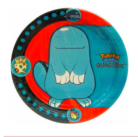 Pokemon gebaksborden 8 stuks 18cm