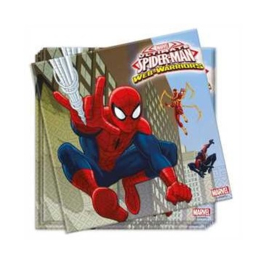 Servetten Spiderman 20 stuks