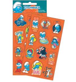Smurfen stickers set