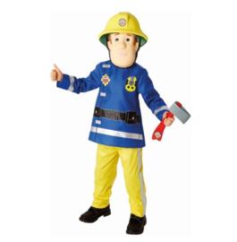 Brandweerman Sam verkleedkostuum mt 116