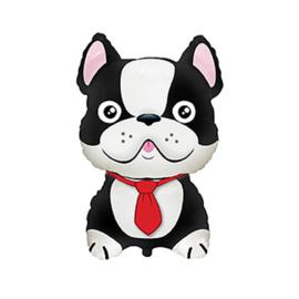 Bulldog hond folie ballon 72cm