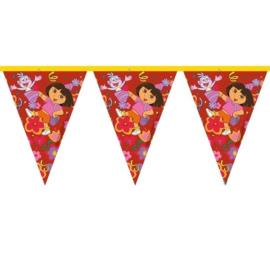 Dora vlaggenlijn plastic 3m