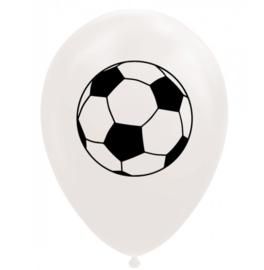 Voetbal ballonnen 8 stuks 30cm