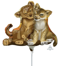 The Lion King Disney folie ballon op stok 25cm