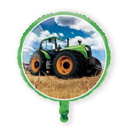 Boerderij tractor folie ballon 46cm