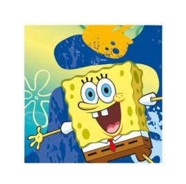 Spongebob servetten 16 stuks 33x33cm