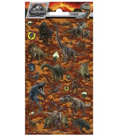 Jurassic World stickervel