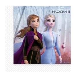 Frozen 2 servetten 20 stuks 33x33cm