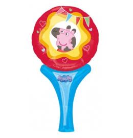 Peppa Pig folie ballon 30x15cm