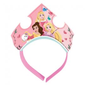 Prinsessen tiara 4 stuks