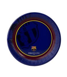 Fc Barcelona borden 6 stuks