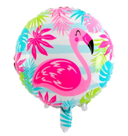 Flamingo folie ballon 45cm