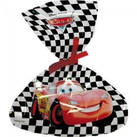 Cars snoepzakjes plastic 6st