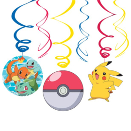 Pokemon hangdecoratie 3 stuks