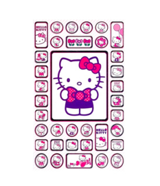 Hello Kitty stickers 2 vellen