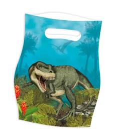 Dino T Rex feestzakjes 8 stuks