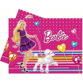 Barbie tafelkleed plastic 120x180cm