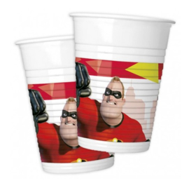 The Incredibles bekers 800 stuks 200ml