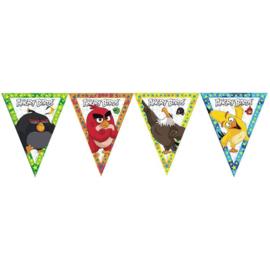 Angry Birds  slinger vlaggenlijn plastic 3,6m