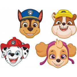 Paw Patrol maskers 8 stuks