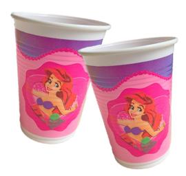 Ariel Jasmine prinsessen bekers 10 stuks 200ml