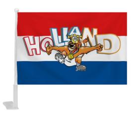 Holland autovlag 46cm 2 stuks