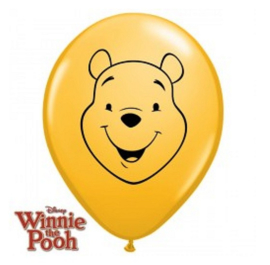 Winnie de Poeh mini ballonnen 5 stuks