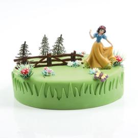 Sneeuwwitje taart versiering set