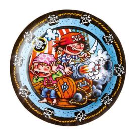 Piraten borden 8 stuks 23cm