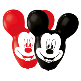 Mickey Mouse ballonnen 4 stuks 56cm