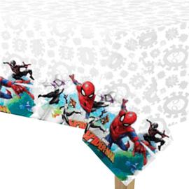 Spiderman tafelkleed plastic 1,2x1,8m