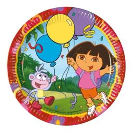 Dora the Explorer borden 10 stuks 23cm