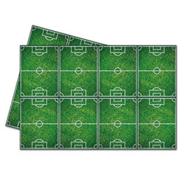 Voetbalveld tafelkleed 120x180cm