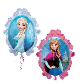 Frozen Anna Elsa folie ballon 70x82cm