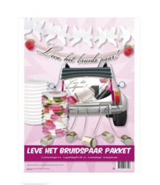 Feestpakket Leve het bruidspaar