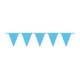 Vlaggenlijn lichtblauw 10m
