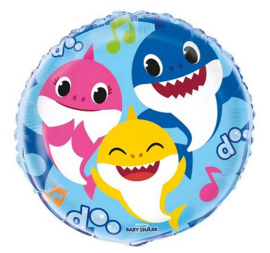 Baby Shark folie ballon 45cm