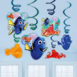 Finding Dory hangdecoratie 6 stuks