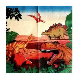 Dinosaurus servetten 20 st 33cm