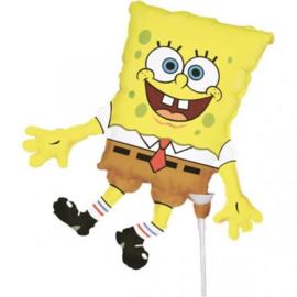 Spongebob folieballon op stok 20cm