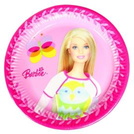 Barbie borden 10 stuks 20cm