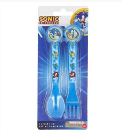 Sonic bestekset 2-delig