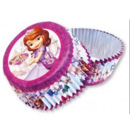 Sofia the first papieren cupcake vormpjes 24 stuks