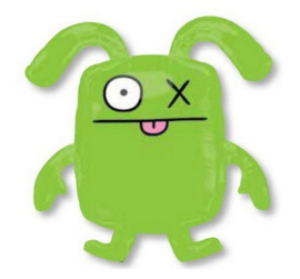 Ugly Dolls Ox folie ballon 66cm