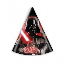 Hoedjes Star Wars heroes 6 stuks