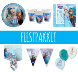 Frozen feestpakket 6 personen